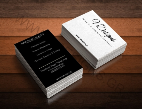 Business card VDesgins Option 1