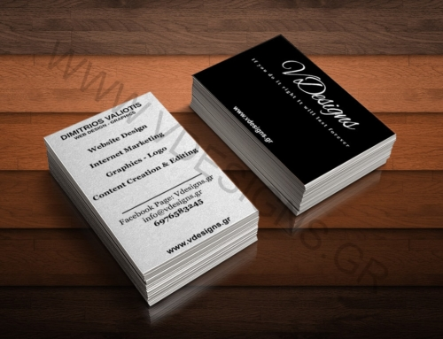 Business card VDesgins Option 2