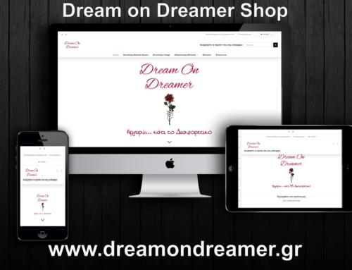 Dream on Dreamer | Κατάστημα με χειροποίητα καλλιτεχνήματα | Αθήνα – Μαρούσι