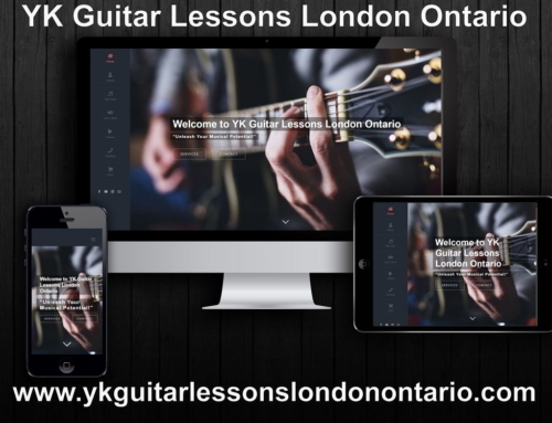 YK Guitar Lessons London Ontario | Ιστοσελίδα για Μαθήματα Μουσικής – Καναδάς