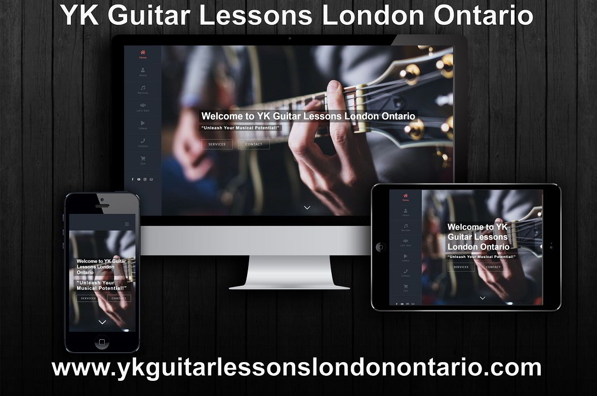 YK Guitar Lessons London Ontario presentation