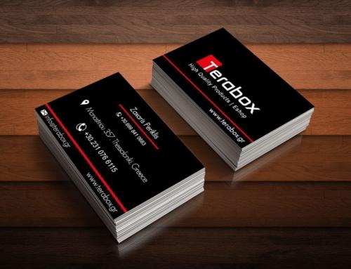 Business card Terabox