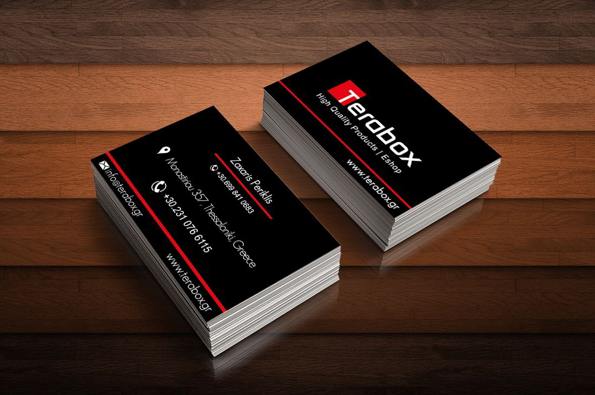 Business card Terabox