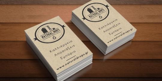 Business card NaturalDrops 2