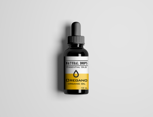 Natural Drops Σχεδιασμός Συσκευασίας Αιθέρια Έλαια 2
