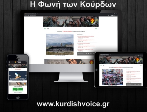 Kurdish Voice Magazine/Blog Website Presentation